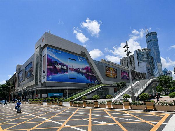 深圳-华强北中国电子第一街旅游3A景区导视系统