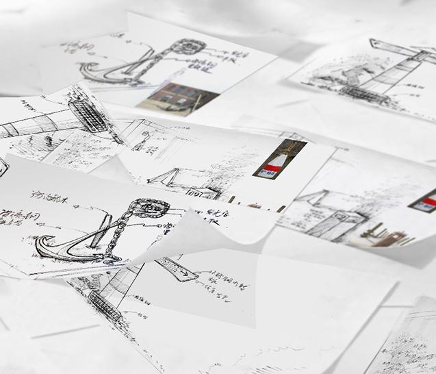 艺术造型创作、概念手稿绘制及手稿方案甄选
