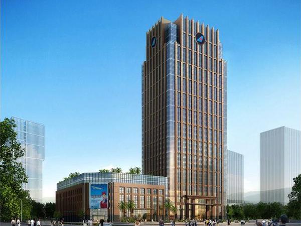 广州-南航总部大楼标识系统